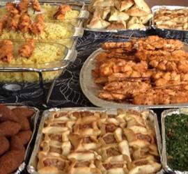 Libanesisk catering från Mammornas Café