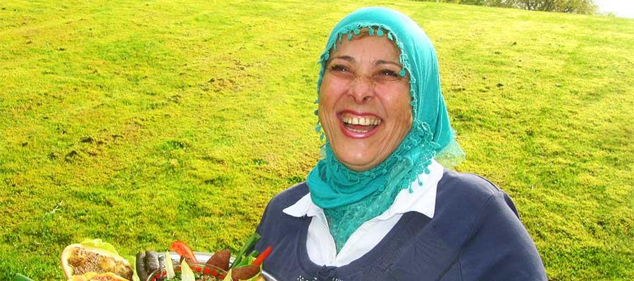 Hala Baydoun driver Mammornas Café i Utvandrarnas hus, Växjö